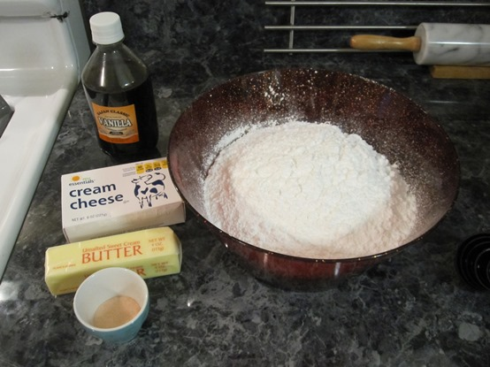 Orange Creamsicle Frosting Ingredients