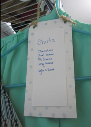 Shirts label