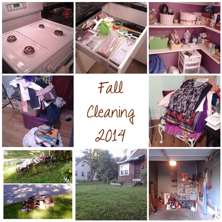 Fall Cleaning 2014